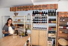 Lidia promeut les produits locaux des Monts d'Or