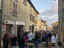 Une inauguration conviviale à Saint-Fortunat