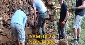 Inscrivez-vous au 2ème chantier fixé le samedi 27 novembre matin !